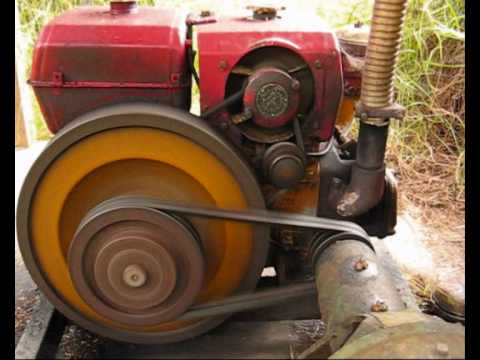 1 Cylinder Diesel Engine Water Pump