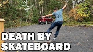 VLOG 13 - DEATH BY SKATEBOARD