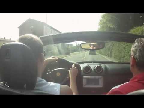 Небольшой Тест-драйв Ferrari 430 California