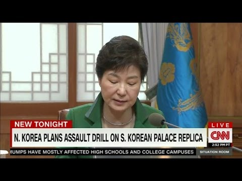 N. Korea builds mockup of Seoul palace for mock attack