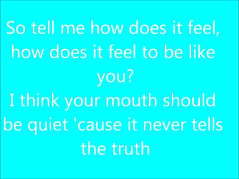 Lyrics to With Ears To See & Eyes To Hear ; By Sleeping with Sirens