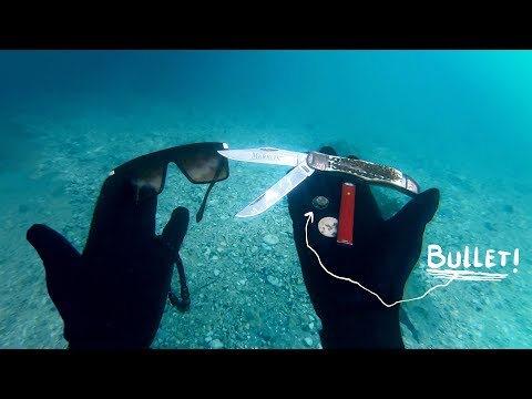 I Found Used Weapons & Alcohol Underwater in River While Scuba Diving
