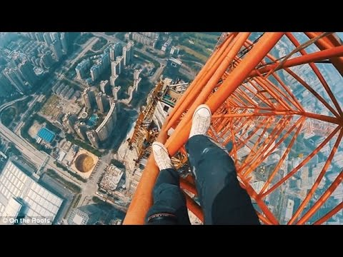 Crazy Daredevil Takes The Most Insane Selfie Ever