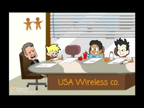 Adult Cartoons: At & T Bigger Is Better Parody - The Children Revolt video