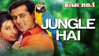 Jungle Hai Aadhi Raat Hai - Biwi No. 1   Salman Khan & Karisma Kapoor   Hema Sardesai & Kumar Sanu