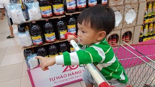 Bé và anh Hai Đi Siêu Thị Shopping Kid Toy