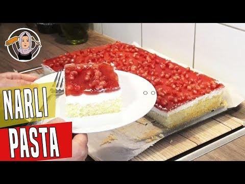Kremalı Narlı Pasta Tarifi Videosu - Pasta Tarifleri