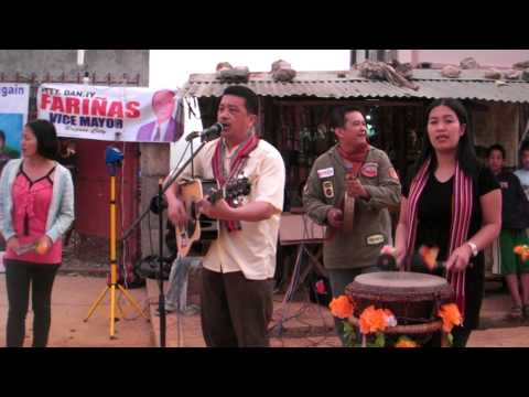 Panagbenga igorot Song 1- (Pio Velasco Orig.Composition-Live open air Performance)