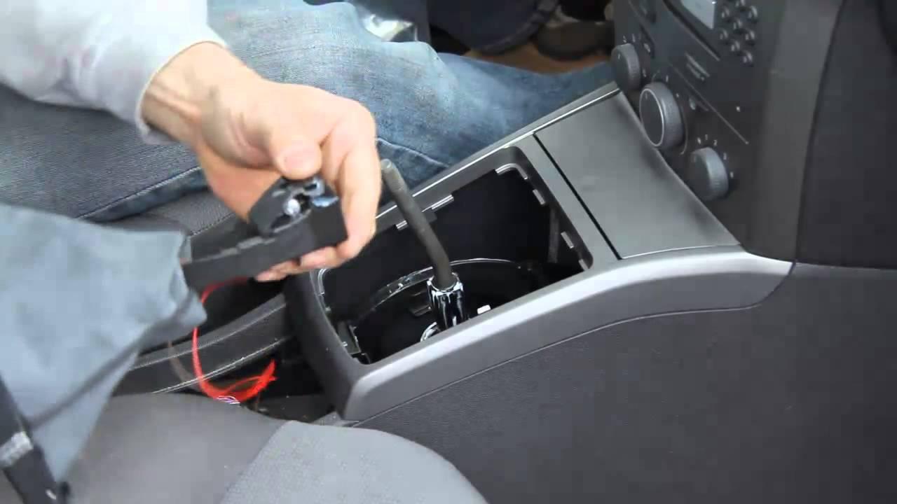 Einbau Ict Led Schaltknauf Opel Astra H 5gang Wechseln How
