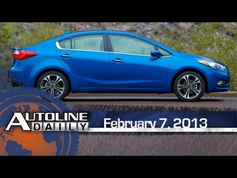 What's New with the 2014 Kia Forte - Autoline Daily 1066