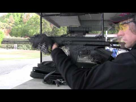 Robinson Arms XCR 300 Round Test