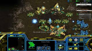 FPVOD Dewalt vs AirCleaner PvZ Scouts + Reavers Starcraft Remastered 2017