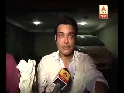 Actor Prosenjit Chatterjee gives an account of fire that took off in his houseActor Prosen