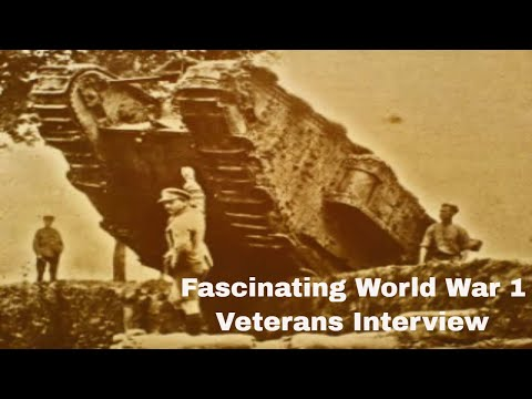 British World War One veterans in interview and song(Exclusive to Youtube)