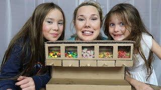 How To Make A Cardboard Candy Dispenser Vending Machine