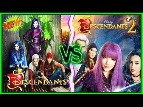 Disney Descendants VS Descendants 2 Battle | Top Disney Channel Stars Musically