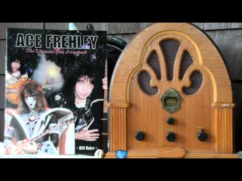 ACE FREHLEY Scrapbook VINTAGE RADIO book promo ad narrated by Herschell G Lewis