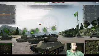World Of Tanks. T71 окончание прокачки.