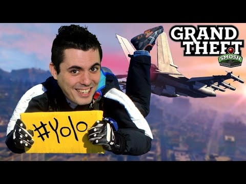 Yolo Bucket List Challenge! (grand Theft Smosh) video