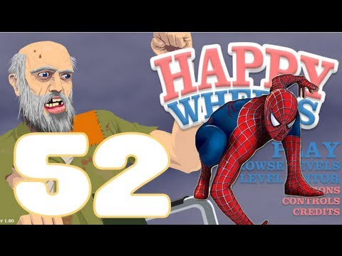 "HAPPY WHEELS: Episodio 52 ""El Increible Spiderman!!!"""