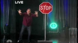 Guy Bavli - Metal Bending - Bending Stop Sign - phenomenon NBC