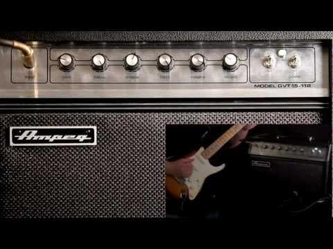Ampeg GVT Tube Guitar Amps -- GVT15H & GVT15-112