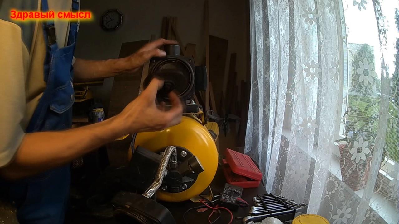Насосная станция al ko ремонт своими руками