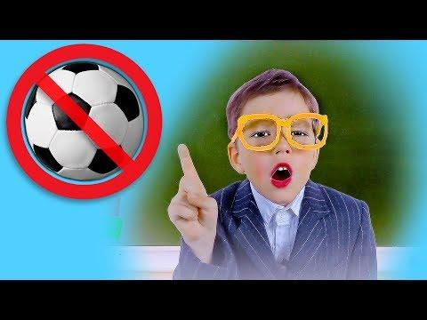 Света и Богдан ИГРАЮТ в футбол и РАЗБИЛИ окно: лучшие серии Луномосика Для Детей kids children