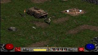 Diablo II Lod (playthrough) - 002: Blood Moor and the den of evil