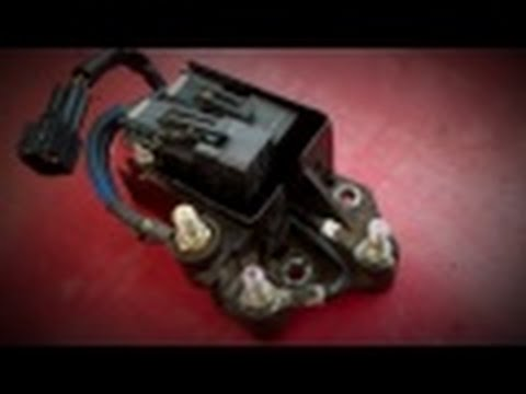 2001-2004 Duramax LB7 P0380 Code. Glow Plug Relay.  Detailed Troubleshooting and Repair