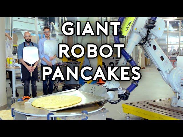 Binging with Babish: Pancakes from Uncle Buck (feat. Dan Souza and a Giant Robot) thumbnail