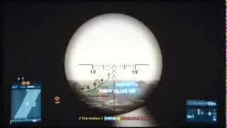 Battlefield 3 - 665m Headshot with the Crossbow