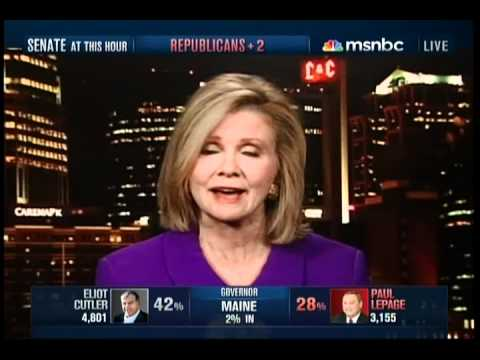 MSNBC 2010 Election Night Coverage Part 14