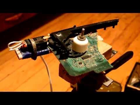 Поворотное устройство видеокамеры своими руками