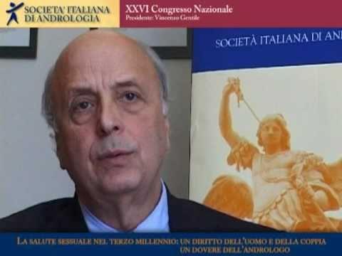 Vincenzo Gentile - XXVI Congresso Nazionale Società Italiana di Andrologia - VIDEOABSTRACT