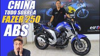 CHINA E TUDO SOBRE A NOVA FAZER 250 ABS - MOTO.com.br