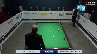 Moscatelli Fernando Danilo VS  Saggia Loris - 20° Campionato Italiano Desio