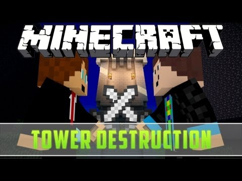 Minecraft: Tower Destruction by Hypixel - mit PixCrafter [HD/German] | GommeHD