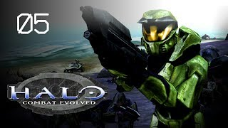 Let's Play Halo: Combat Evolved (SPV3) - 05 - A Day at the Beach