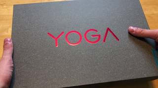 Lenovo Yoga 920 unboxing and first impressions