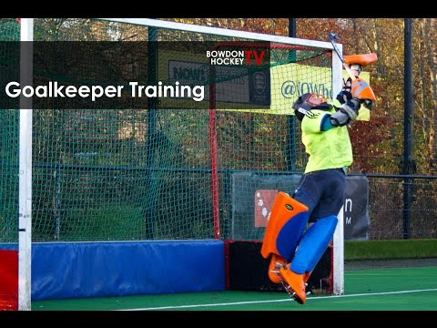 Field Hockey Goalkeeper Training Drills