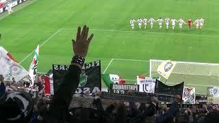 Fine JUVENTUS Vs Cagliari JUVE Curva SudNord