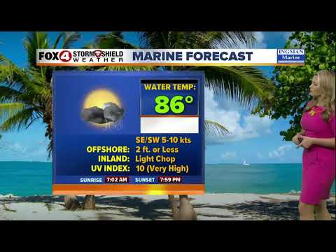 FORECAST: Hot & Humid, Afternoon Thunderstorms