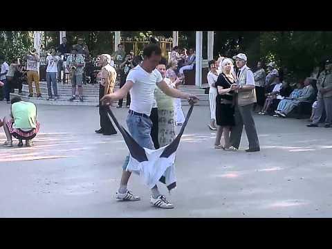Человек с абсолютным стилем танца