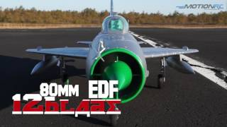 Freewing Mig-21 80mm EDF Jet from Motion RC