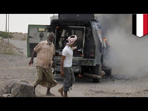 Yemen news: President Abd-Rabbu Mansour Hadi targeted in air attack by Shi'ite Muslim Houthi