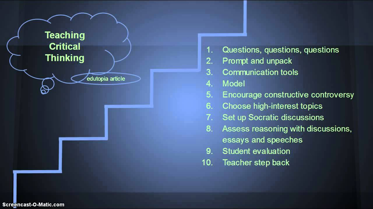 stages of critical thinking critical thinking stages of critical thinking essay on living life to the fullest