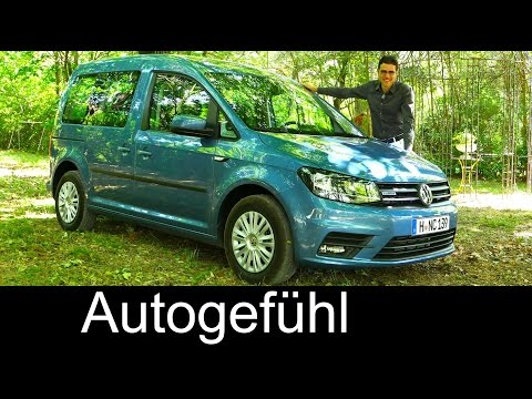 All-new VW Volkswagen Caddy 4th gen FULL REVIEW test driven 2016 - Autogefühl