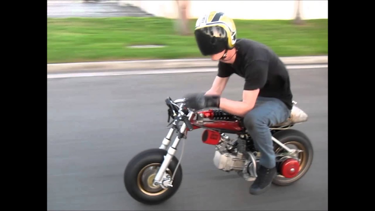 Z50 Honda Gy6 Drag Bike First Ride Ruckus Killer Youtube