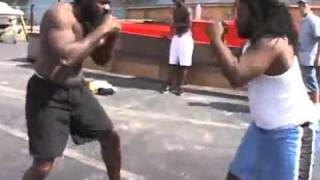 Kimbo Slice Vs Dreads